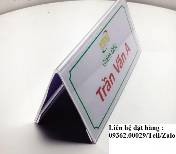 Biển chức danh để bàn bằng mica- Sản xuất tại quận Thanh Xuân16