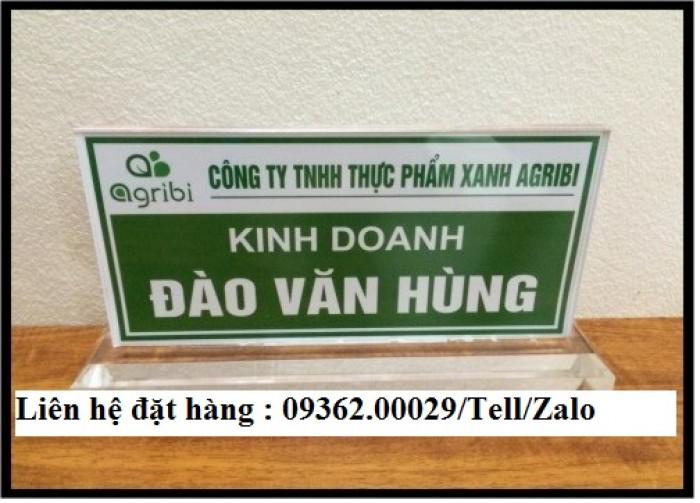 Biển chức danh để bàn bằng mica- Sản xuất tại quận Thanh Xuân18