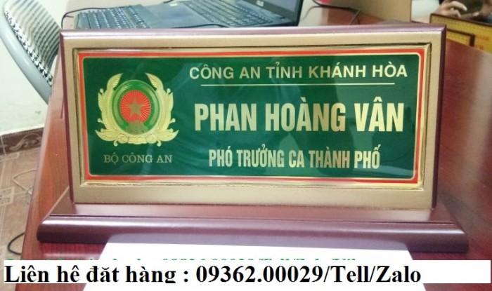 Biển chức danh để bàn bằng mica- Sản xuất tại quận Thanh Xuân19