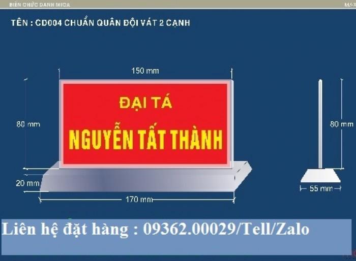 Biển chức danh để bàn bằng mica- Sản xuất tại quận Thanh Xuân20