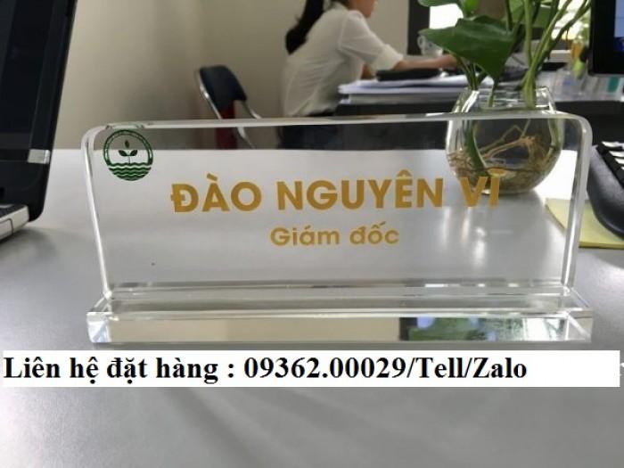Biển chức danh để bàn bằng mica- Sản xuất tại quận Thanh Xuân23