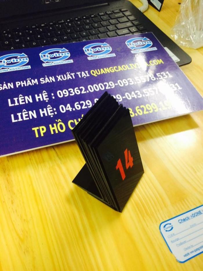 Biển số bàn mica- CUng cấp các loại biển số bàn giá rẻ1