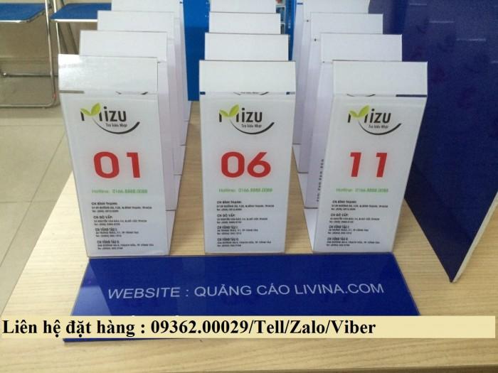 Biển số bàn mica- CUng cấp các loại biển số bàn giá rẻ2