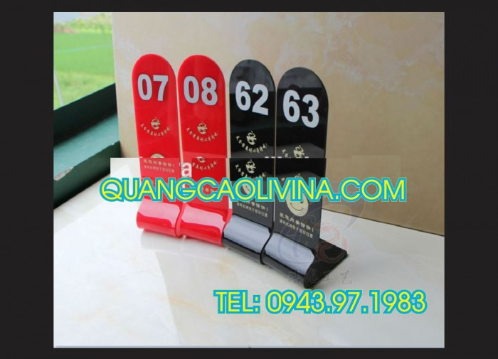 Biển số bàn mica- CUng cấp các loại biển số bàn giá rẻ6