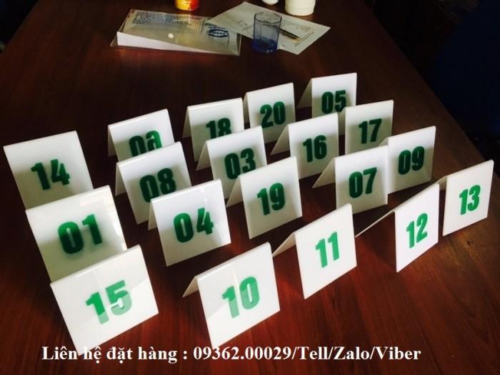 Biển số bàn mica- CUng cấp các loại biển số bàn giá rẻ9