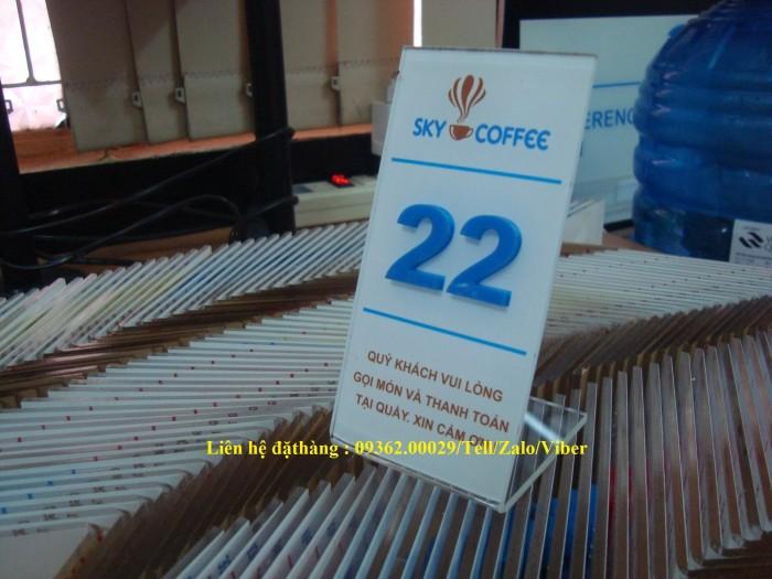 Biển số bàn mica- CUng cấp các loại biển số bàn giá rẻ18
