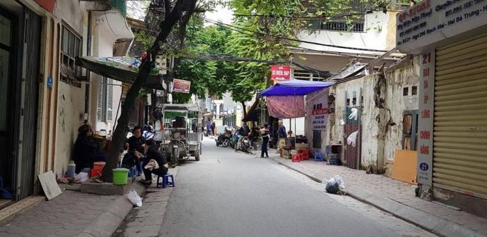 Bán đất hai mặt ngõ ô tô, phố Bạch Mai, Hai Bà Trưng 90 m2, MT 9m