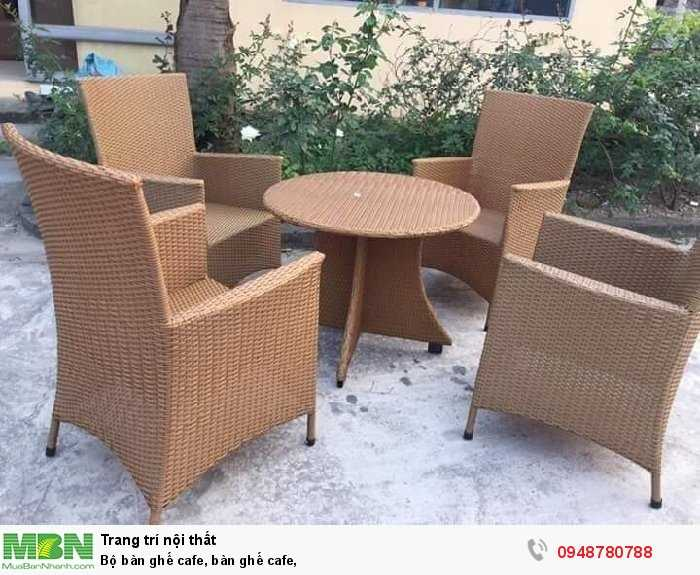 Bộ bàn ghế cafe, bàn ghế cafe,4