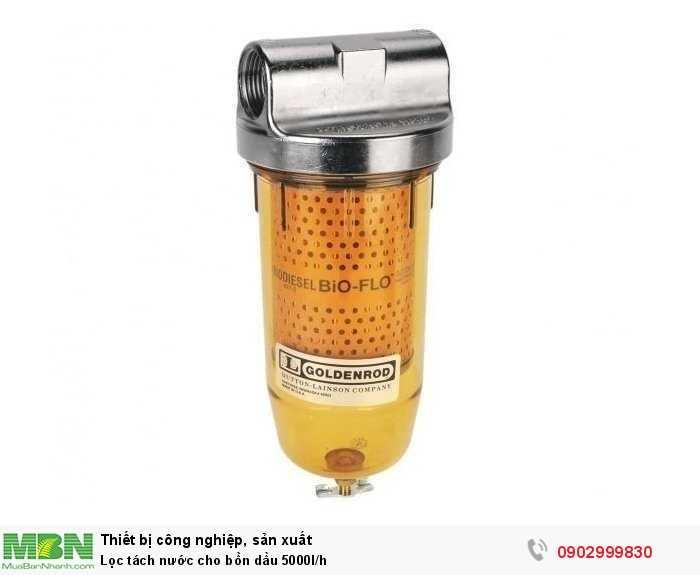 Lọc tách nước cho bồn dầu 5000l/h