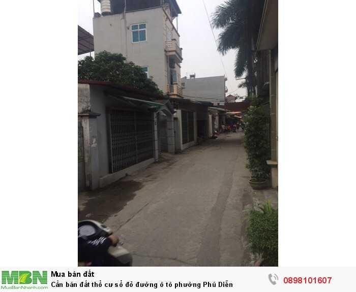 Cần bán đất thổ cư sổ đỏ đường ô tô phường Phú Diễn