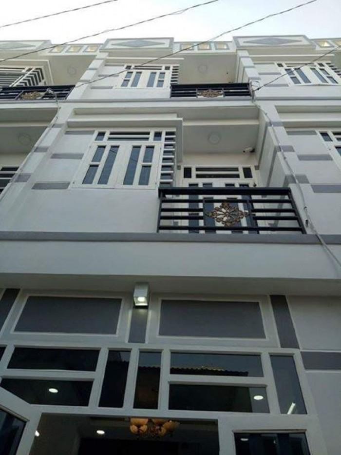 Căn nhà nhỏ xinh 2 lầu mới xây giáp gò vấp