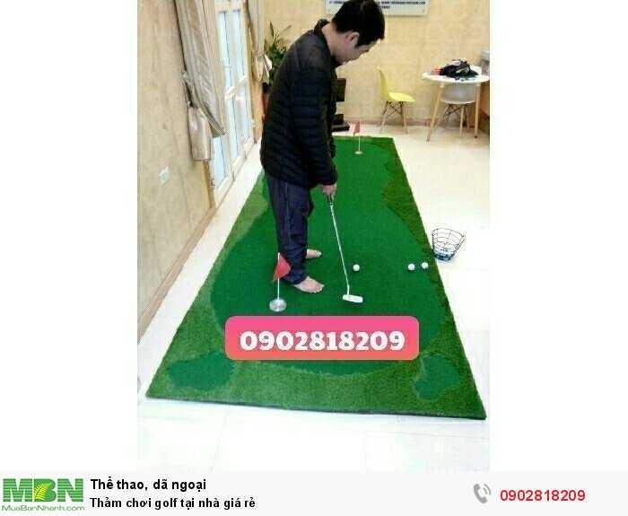 Thảm chơi golf tại nhà giá rẻ1