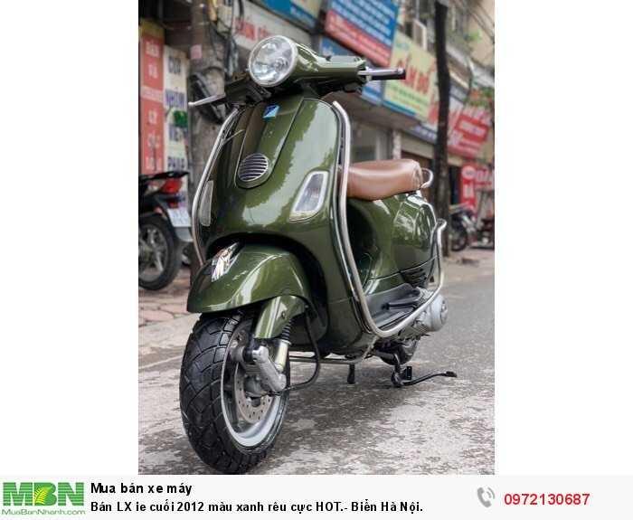 Bán LX ie cuối 2012 màu xanh rêu cực HOT.- Biển Hà Nội.