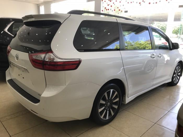 Bán Toyota Sienna Limited 3.5 nhập mỹ 2019, màu trắng, xe giao xe ngay, giá cực tốt.