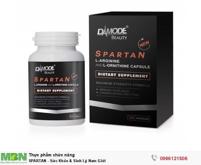 SPARTAN - Sức Khỏe & Sinh Lý Nam Giới0