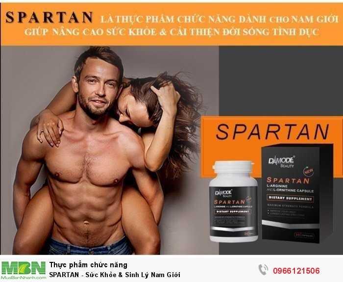 SPARTAN - Sức Khỏe & Sinh Lý Nam Giới1