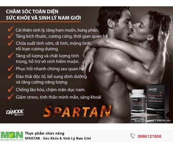 SPARTAN - Sức Khỏe & Sinh Lý Nam Giới3