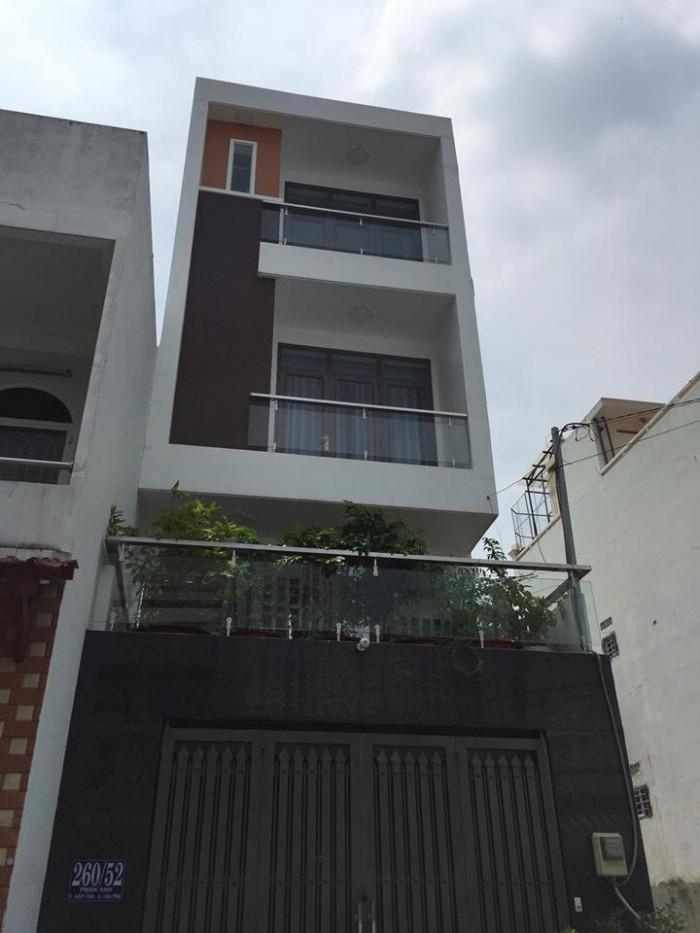 Nhà mới đẹp hẻm 8m Phan Anh 4.1x12m , 2.5 lầu