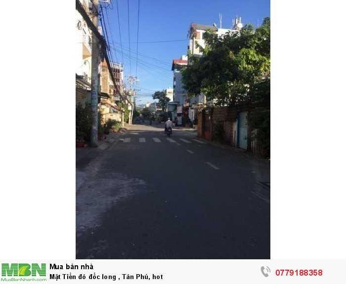 Mặt Tiền Đô Đốc Long, Tân Phú, hot