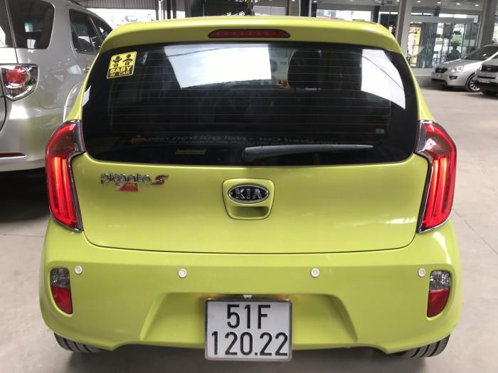 Bán Kia Picanto S 1.2AT màu xanh chuối số tự động sản xuất 2013 SG đi 24000km
