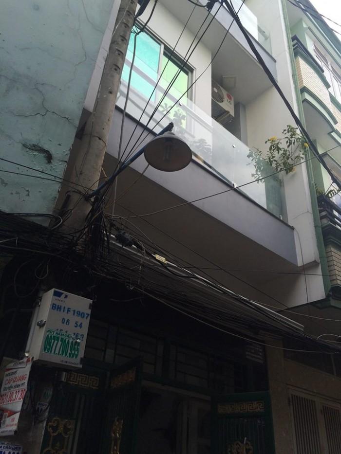 Bán nhà nhỏ hẻm Phan Đình Phùng 14m2 1,7 tỷ. Phú Nhuận.