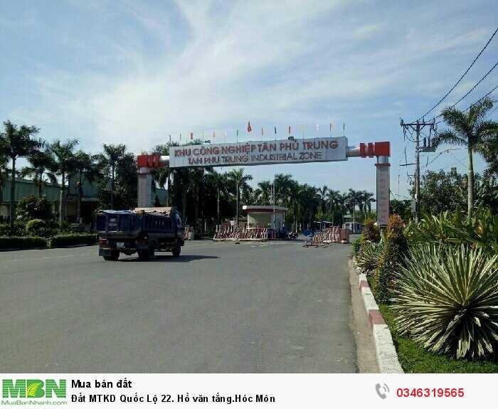 Đất Mtkd Quốc Lộ 22. Hồ Văn Tắng, Hóc Môn