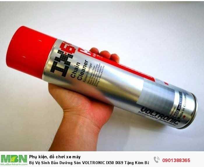 IX69 tẩy rửa, vệ sinh sên dành cho xe máy, xe địa hình, off-road.