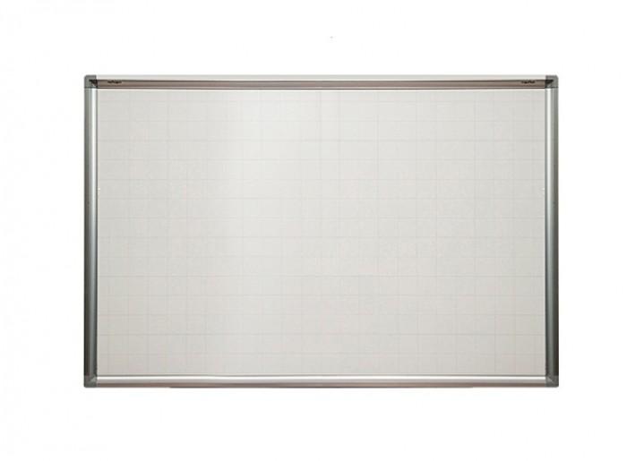 Kích thước mặt Bảng: H1200xW1800mm (H: chiều rộng; W: Chiều dài) - Mặt Bảng: được sản xuất bằng thép từ tính Hàn Quốc. Bề mặt sáng đẹp, dễ viết, dễ xóa sạch. Mặt bảng bằng tấm thép phủ sơn màu trắng dày 20 micromét theo tiêu chuẩn JIS G3312 của Hàn Quốc -  Bề mặt bảng trắng sáng, đẹp, ít lóa, công dụng làm bảng viết bút lông, bút dạ.  - Mặt Bảng Có từ tính mạnh, có thể hít hoặc dính viên nam châm (magnet). Mặt bảng Kẻ ô vuông mờ 5x5cm ( dễ viết ). - Khung nhôm hợp kim kiểu vuông chuyên dụng, của Đài Loan. 4 góc bảng bịt nhựa an toàn tạo tính thẩm mỹ cao. Khung nhôm hợp kim kiểu vuông chuyên dụng, của Đài Loan. - Ván hậu bằng tấm nhựa dày 15mm, chống ẩm, chống cong vênh tuyệt đối, tạo lự tì ổn định giúp viết tốt hơn. - Khay đựng bút của bảng từ trắng treo tường Hàn Quốc dài 30cm được gắn và trượt dài trên khung bảng0