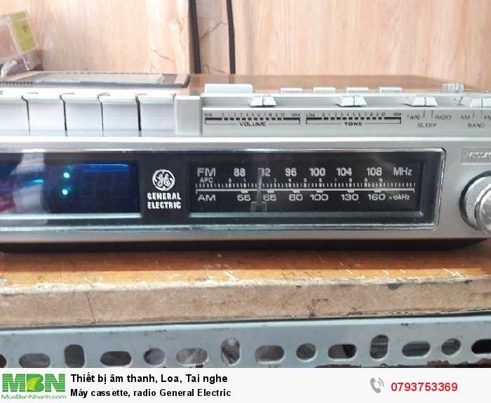 Máy cassette, radio  General Electric1