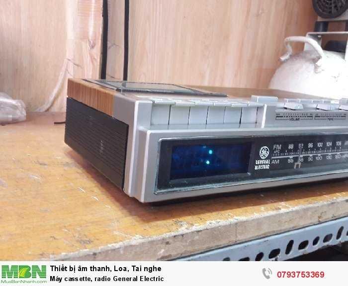 Máy cassette, radio  General Electric2