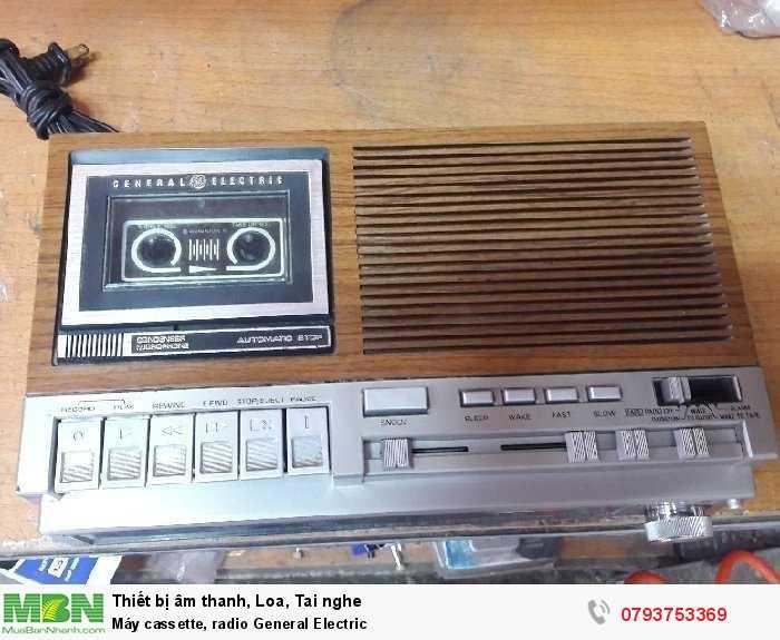Máy cassette, radio  General Electric4