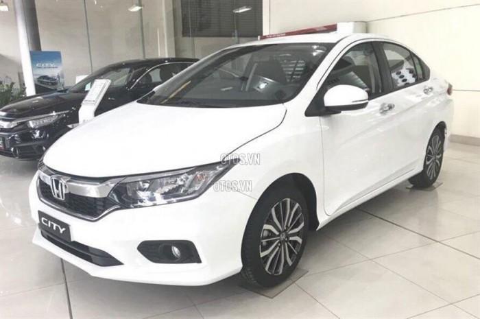 Honda city 2019 màu trắng ưu đãi đặc biệt cuôi năm 4