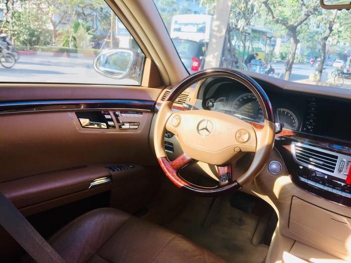 Mercedes S550, màu đen,sx 2007, đk 2008. Xe tư nhân chính chủ, nhập nguyên chiếc Đức. 2