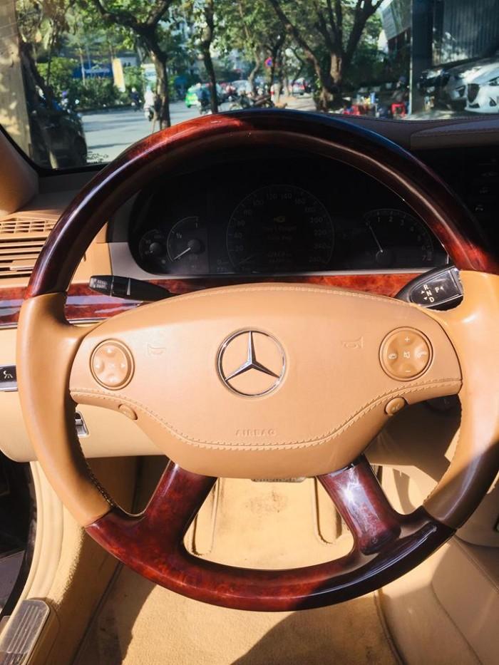 Mercedes S550, màu đen,sx 2007, đk 2008. Xe tư nhân chính chủ, nhập nguyên chiếc Đức. 6