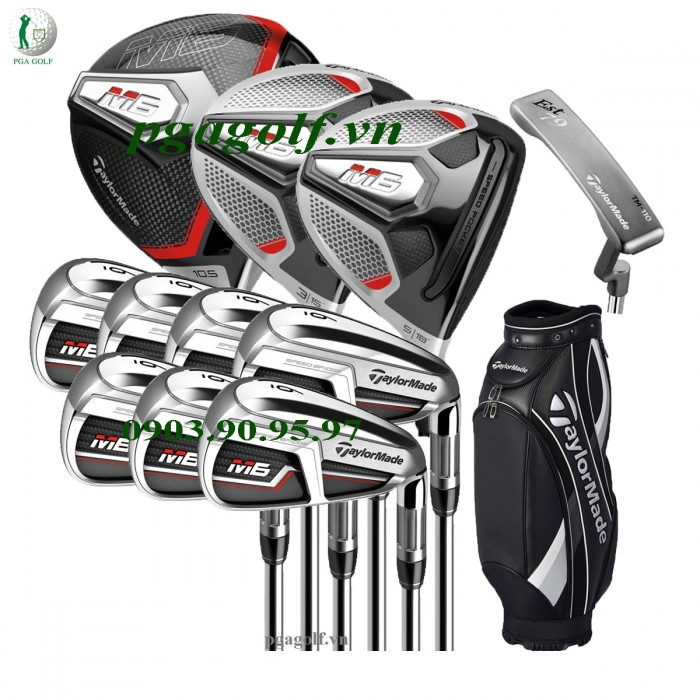 Bộ Gậy Golf Taylormade M6 chính hãng 0