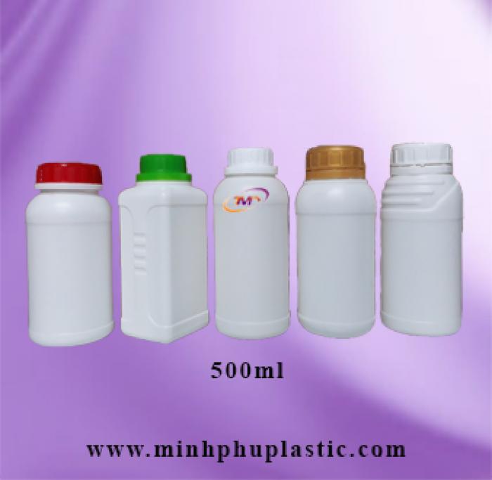 các loại chai nhựa