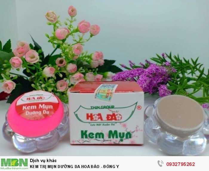 Kem trị mụn dưỡng da hoa đào Đông y