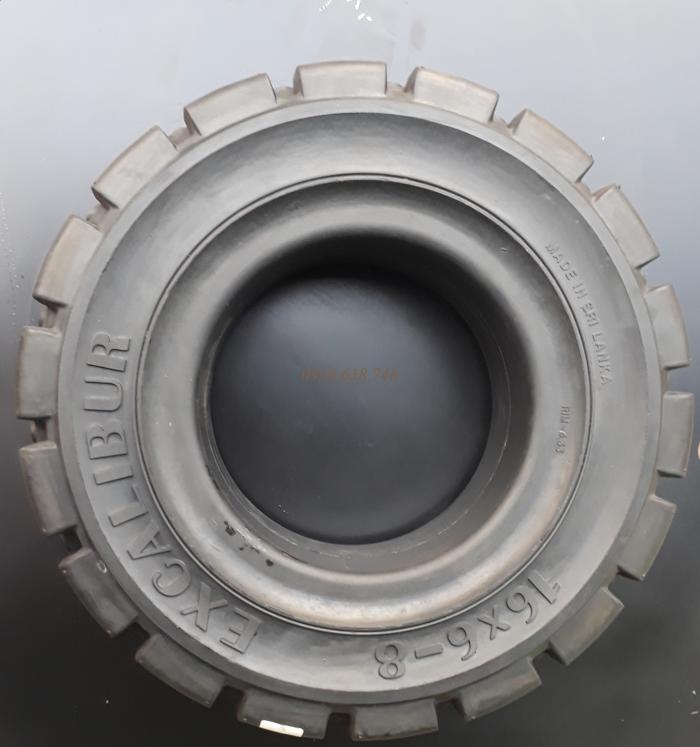 Cung cấp vỏ đặc chất lượng cao dùng cho xe nâng hàng-hiệu EXCALIBUR