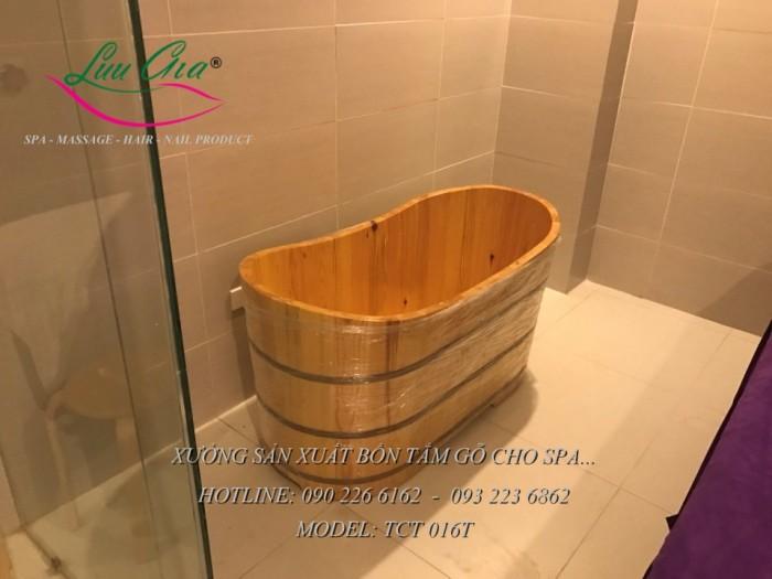 Bồn xông hơi, bồn tắm gỗ.14