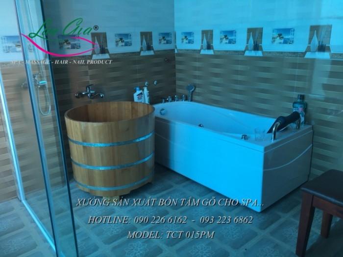 Bồn xông hơi, bồn tắm gỗ.13