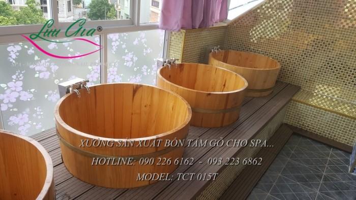 Bồn xông hơi, bồn tắm gỗ.11