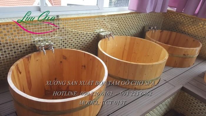 Bồn xông hơi, bồn tắm gỗ.9