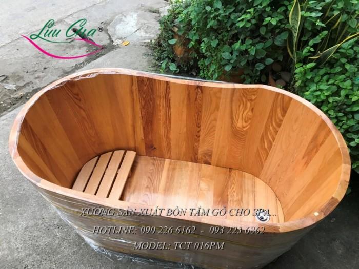 Bồn xông hơi, bồn tắm gỗ.10