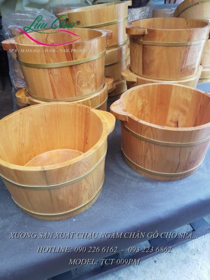 Bồn xông hơi, bồn tắm gỗ.3