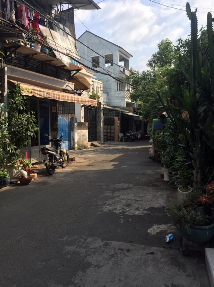 Bán nhà hẻm kinh doanh Tân Kỳ Tân Qúy, dt 3.8x19.5m, p Tây Thạnh