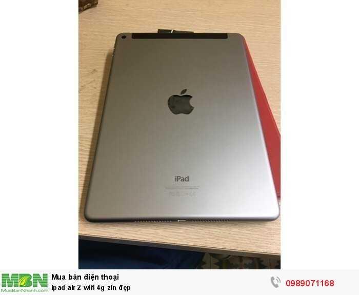 Ipad air 2 wifi 4g zin đẹp3