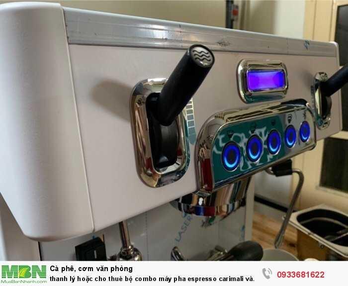Thanh lý hoặc cho thuê bộ combo máy pha espresso carimali và cunill tauro0