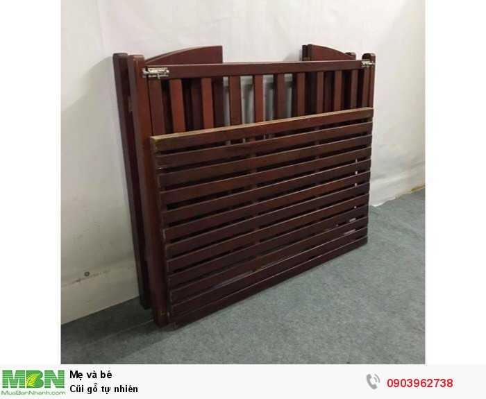 Cũi gỗ tự nhiên3