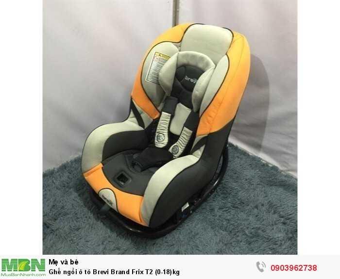 Ghế ngồi ô tô Brevi Brand Frix T2 (0-18)kg0