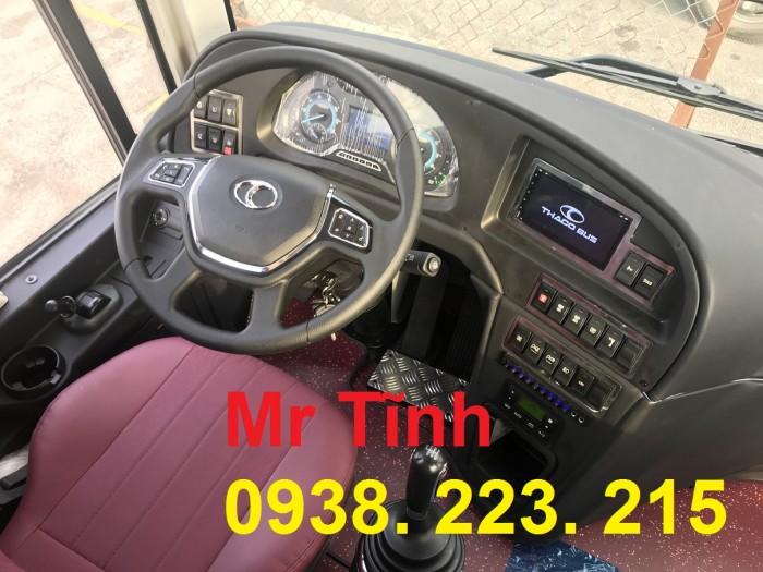 Bán xe Khách 29 Chỗ Bầu Hơi-Thaco Tb79S E4 đời 2019 mới nhất 21